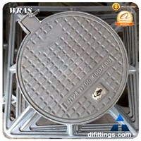 Steel hook plastic water meter box manhole cover