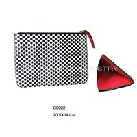Dotted Flat Clutch Bag (C0022)