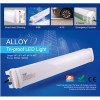 IP66 tri-proof LED light suppliers emergency,microwave sensor, dimmable led parking light