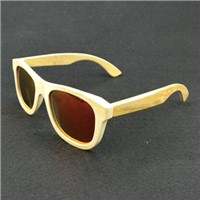 Factory price high quality handmade bamboo sunglasses