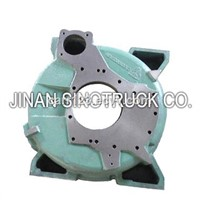 HOWO TRUCK SPARE PARTS TRUCK ENGINE PARTS AZ1500010012 FLYWHEEL HOUSING