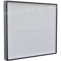 Mini-pleat HEPA filter / Clean air filter for FFU / clean room / hospital project