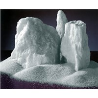 White fused aluminum oxide for abrasives and refractory