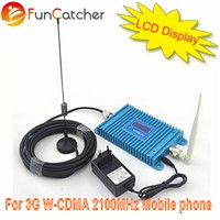 3G WCDMA 2100MHz universal Indoor Home/office mobile phone signal Repeater with LCD display