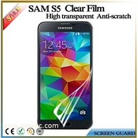 High Transparency For Samsung galaxy S5 Mobile Phone Screen Protector Clear