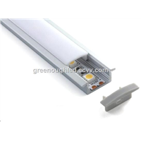LED Linear Aluminum Profile Cabinet Strip Light with PMMA Diffuser