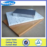 Metal aluminum sandwich composite panel
