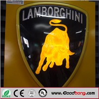 Custom vacuum forming acrylic advertising auto emblems car logo