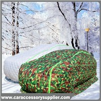 Colourful  cotton padded heat insulation car cover for Russsia market