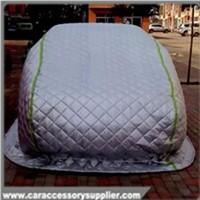 Colourful soft material polyester heat insulation car cover