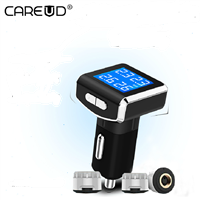 Hot sale TPMS for Universal Tire Pressure Monitoring System External Sensor LCD Display Waterproof