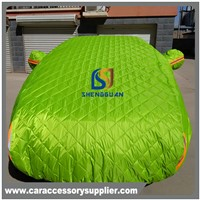Direct factory 3 layers soft material polyester snowproof car cover