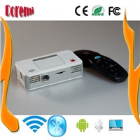 80 lumen mini  DLP Projector with Android system IR control