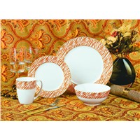 16pcs Royal bone china dinner set, luxury dinner set bone china
