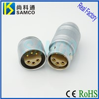 2C Series Push Pull Self Latching Connector, Metal Circular Self Locking Connector