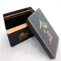 Perfume bottle aluminum package box