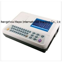 Clinical Diagnosis 3 Channels Digital Electrocardiograph ECG Monitor (3303W)