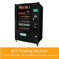 Cold Food & Beverages soda and candy Vending Machine