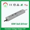 LED power supply LED driver LED transformer for led strip light 60W