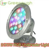 LED Underwater Light/Stainless Steel Underwater LED Dock Lights 21W
