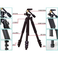Q620 Heavy duty tripod 1830mm,with 3-way pan head,for comcorder ,camera