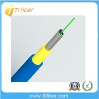 Simplex armoured fiber optic cable for patch cord