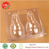 clear disposable clamshell packaging plastic fruit box