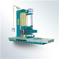 floor type boring lathe machine