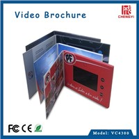 2015 top selling lcd video greeting card