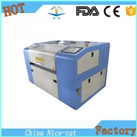 China NC-E5030 Mini Laser Machine/Co2 Laser Cutting Machine
