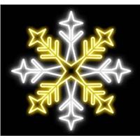 D: 80cm led snowflake light for Chiristmas decorations outdoor using