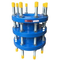 Double flange expansion joint
