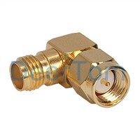 SMA Male to SMA Female Adapter Adaptor Connector RF Connector Right Angle Connector