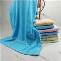 14s Low Twist Plain Dyed Jacquard Terry Bath Towel