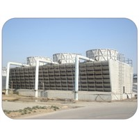 FNH-3000 FRPIndustry combination cross flow square cooling tower