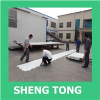 SHENGTONG Synthetic ice rink board for Hockey rink,ice rink, skate rink wholesale in dubai