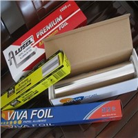 Silver food packaging aluminium foil
