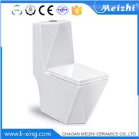 Bathroom toilet seat ceramic s trap sanitary piece water closet one piece toielt