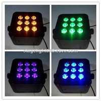6 in 1 RGBAW UV wireless dj light 2015 NEW