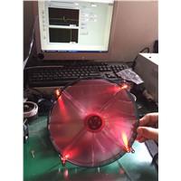 DC 20020 cooling red led FAN case fan UL& CE approval