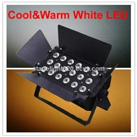 cool and warm white 2 color church light,LED audio light