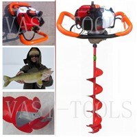 25.4cc 1E34F engine powered Fishing ice drill ice auger