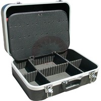 Black Molding Tool Box with Aluminum Frame (HT-5001)