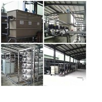 Electroplating wastewater treatment equipment