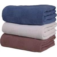 CVC 55% & 45% Polyester Vat Dyed Thermal Blankets