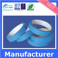 High adhesion blue masking tape