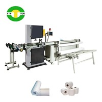 Automatic Toilet Paper Tissue Log Band Saw Cutting Machine