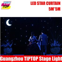 TIPTOP 5M*5M Fireproof LED Star Cloth LED Vision Cloth LED Curtain Cloth Background Stage Light