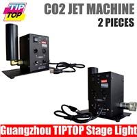 TIPTOP Single Pipe CO2 Machine DMX 2CH CO2 DJ Jet Effect Light Disco Stage CO2 jet DMX Smoke Machine