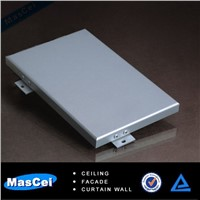 exterior aluminum metal curtain wall panel